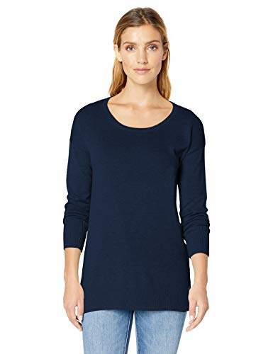 73be79ef3232cb Womens Navy Tunic Sweater - ShopStyle