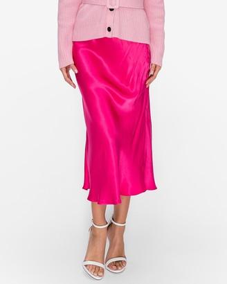 Express English Factory Midi Flare Skirt