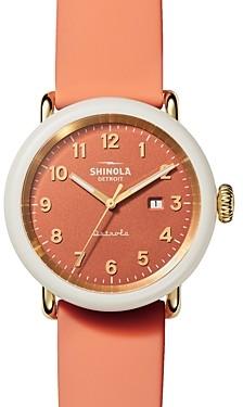 Shinola The Peony Detrola Watch, 43mm