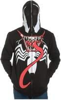 Marvel Venom Full Zip Mask Hoodie Medium