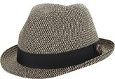 Ben Sherman Men's Sewn Braid Straw Trilby