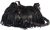 Mcfadin Handbags Classic Fringe Bag with Vintage Strap