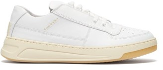 Acne Studios Perey Low-top Leather Trainers - White