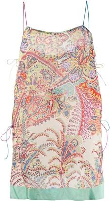 Etro Paisley Print Camisole Top