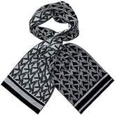 Michael Kors Metalic Scarf Logo Dazzling Knit Derby Grey