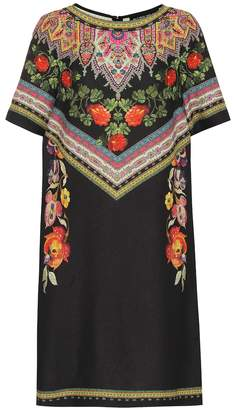Etro Printed crepe minidress