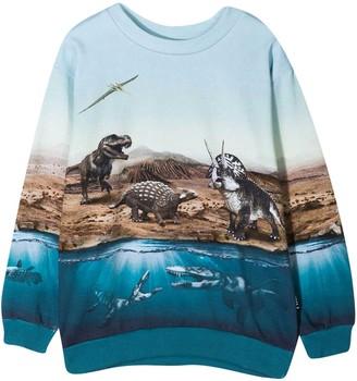 Molo Light Blue Teen Sweatshirt