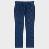 Paul Smith Women's Slim-Fit Indigo Denim 'Small Spot' Trousers