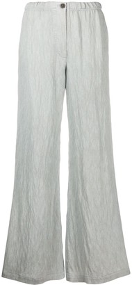 Raquel Allegra Relaxed Straight Leg Trousers