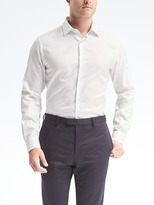 Banana Republic Grant-Fit Supima® Cotton Textured Shirt