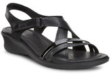 Ecco Felicia Sandal Black/Black Fea/For/Softy