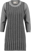 Eight Intarsia-knit wool-blend tunic