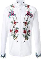 Gucci embroidered duke shirt