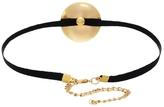 Gogo Philip Gold Disc Choker Necklace