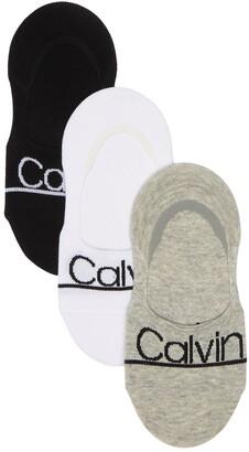 Calvin Klein Logo Liner Socks - Pack of 3