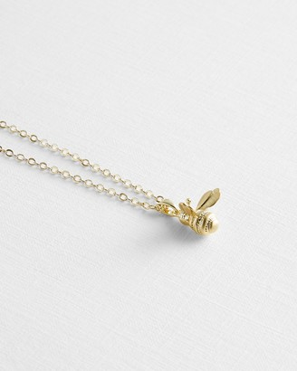 Ted Baker Bumble Bee Pendant Necklace