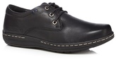 Hush Puppies Black 'villy Victory' Lace Up Shoes