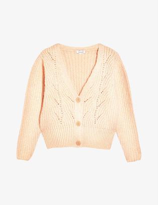 Topshop V-neck knitted cardigan