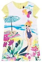 Catimini Beach Print Dress