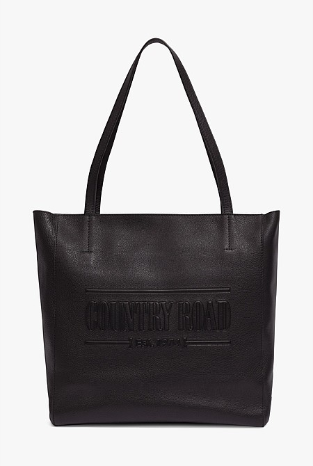 Country Road Heritage Leather Shopper