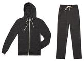 Alternative Apparel Do The Hustle Hoodie & Pants Bundle in Eco Black, Small