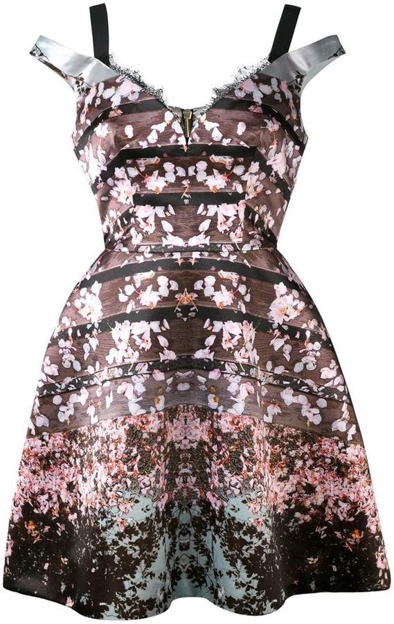 Natasha Zinko floral printed dress