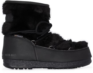 Moon Boot Monaco faux fur boots
