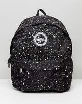 Hype Backpack In Black With Speckle