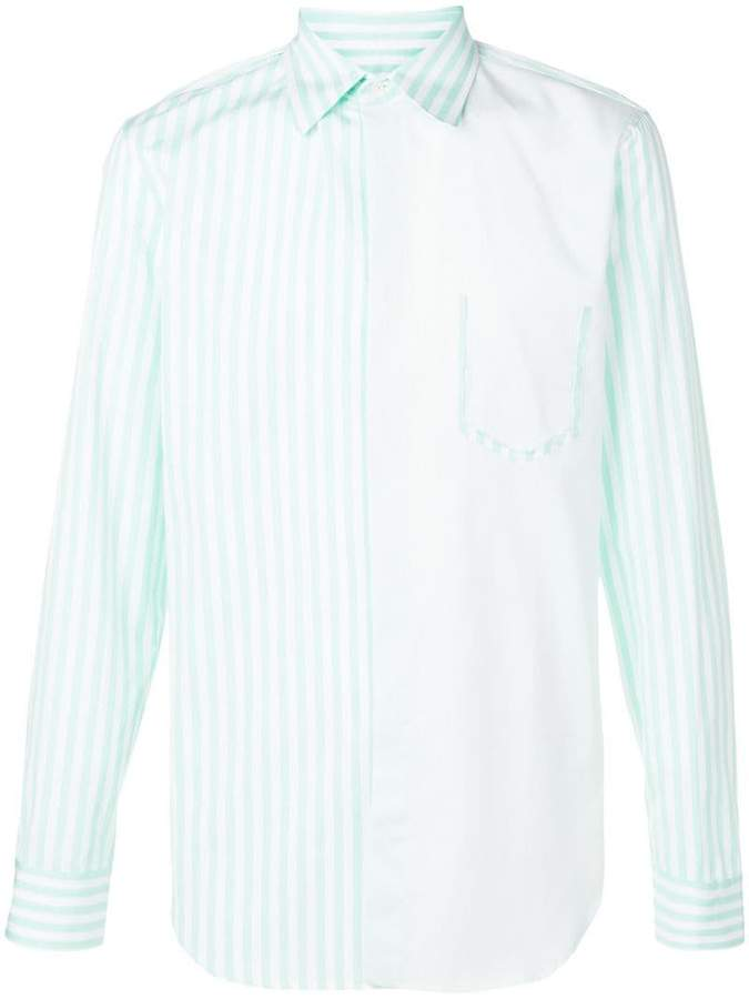 Maison Margiela striped button down shirt