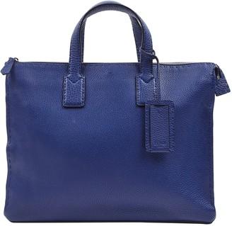 Fendi Blue Leather Bags