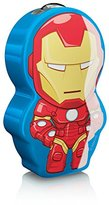 Marvel Philips Avengers Iron Man Children's Pocket Torch and Night Light with Integrated LED, 1 x 0.3 W