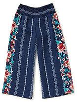 Takara Little Girls 4-6X Floral Palazzo Pants