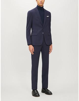 Ralph Lauren Purple Label Kent slim-fit wool suit