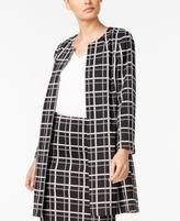Alfani Petite Printed Jacket, Created for Macy's