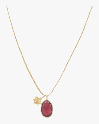 Pippa Small Gold Flower Colette Pendant Necklace