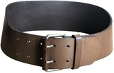 Haider Ackermann Brown Leather Belts