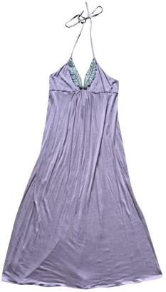 Les Prairies de Paris Pink Cotton Dress for Women