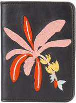 Lizzie Fortunato Banana Tree passport case - women - Leather - One Size