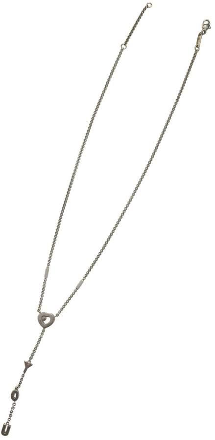 Chopard Happy Diamonds Silver White gold Necklace