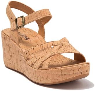 KORKS Jenneve Platform Wedge Sandal