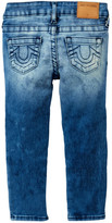 True Religion Casey Single End Skinny Jean (Toddler & Little Girls)