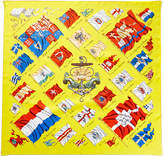 Hermes Pavois By Philippe Ledoux Silk Scarf