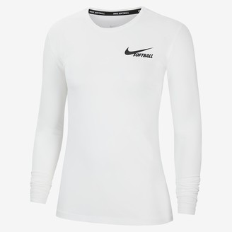 Nike Women's Long-Sleeve Softball Top Dri-FIT
