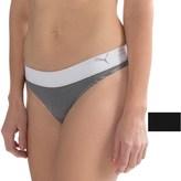 Puma Seamless Pinstripe Panties - 2-Pack, Thong (For Women)