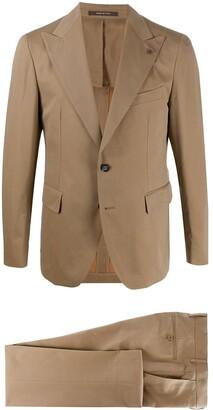 Tagliatore Plain Single Breasted Suit