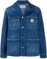 Carhartt Wip multi-pocket logo patch jacket