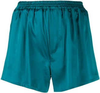 Haider Ackermann Silk-Satin Shorts