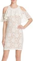 Ella Moss Cold-Shoulder Lace Dress