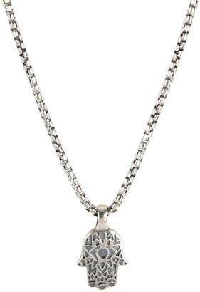 Degs & Sal Hamsa Pendant Necklace