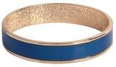 Sam & Libby Women's Small Bangle Bracelet - Gold/Blue